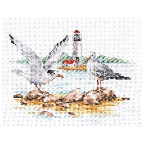 Купить Алиса Набор для вышивания Отмель. Чайки 19 х 14 (3-30), Наборы для вышивания