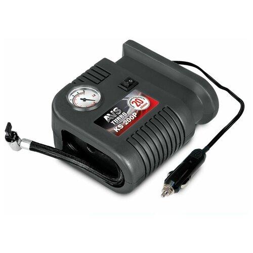 Автомобильный компрессор AVS KS200P черный