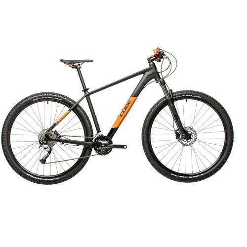 Фото - Горный (MTB) велосипед Cube Aim SL 29 (2021) black/orange 19 (требует финальной сборки) велосипед cube elite c 68 race 29 2x 2016
