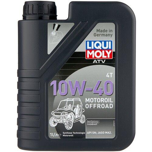 Полусинтетическое моторное масло LIQUI MOLY ATV 4T Motoroil Offroad 10W-40, 1 л недорого