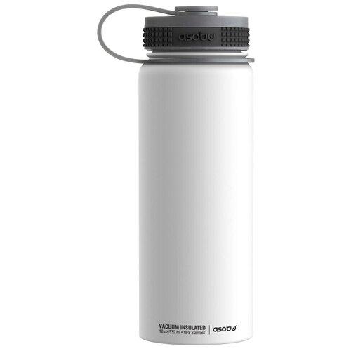 Термобутылка Asobu Alpine flask, 0.53 л белый