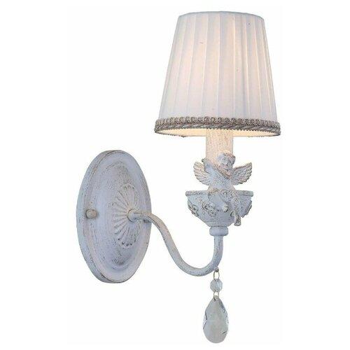 Настенный светильник Arte Lamp Сherubino A5656AP-1WG, 40 Вт бра arte lamp a5656ap 1wg