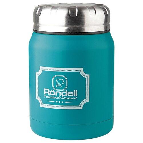 Термос для еды Rondell Picnic, 0.5 л бирюзовый