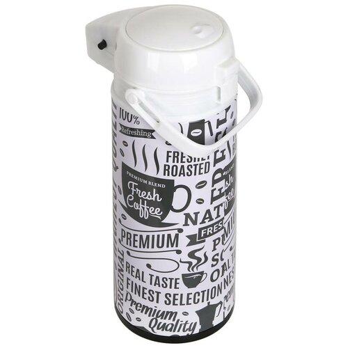 Помповый термос Bekker BK-4163, 1.9 л белый