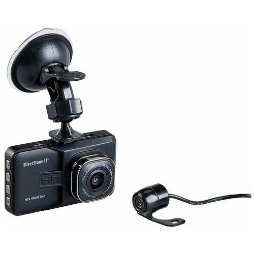 Фото - Видеорегистратор SilverStone F1 NTK-9000F Duo, 2 камеры, черный видеорегистратор silverstone f1 ntk 8000f черный