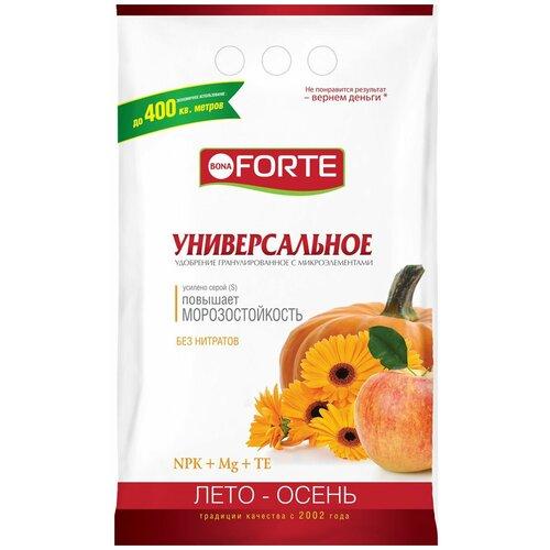 Удобрение BONA FORTE универсальное лето-осень, 2.5 кг удобрение robin green лето осень 5 кг