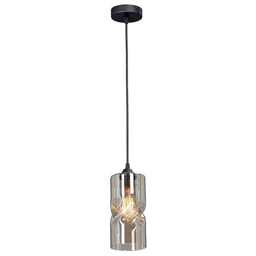Фото - Светильник Vitaluce V4852-1/1S, E27, 40 Вт, кол-во ламп: 1 шт., цвет арматуры: черный, цвет плафона: бежевый светильник vitaluce v4849 1 1s e27 40 вт