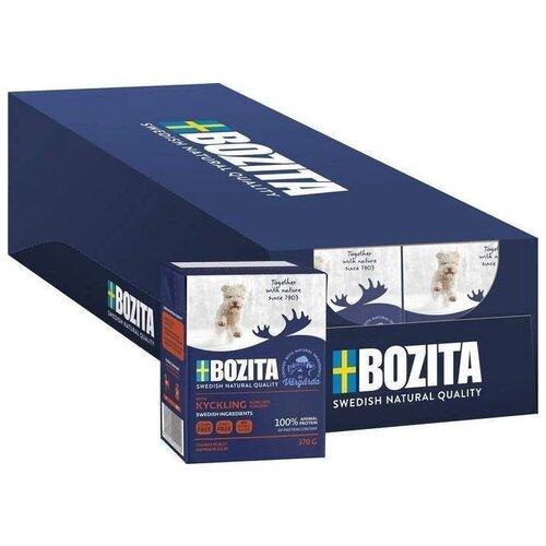 Влажный корм для щенков Bozita Naturals, курица 16 шт. х 37 г