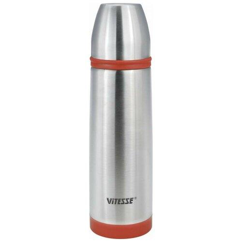 Классический термос Vitesse VS-2630, 0.5 л красный