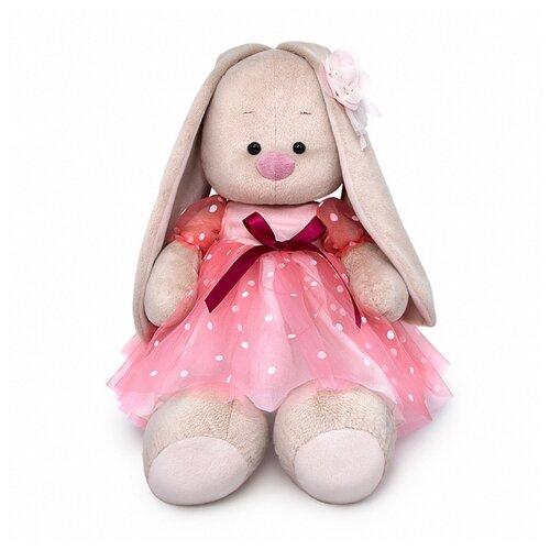 Мягкая игрушка BUDI BASA SidL-400 Зайка Ми Большой в пышном платье 34 см