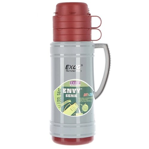 Классический термос Hangzhou EXCO Industrial EN100, 1 л красный