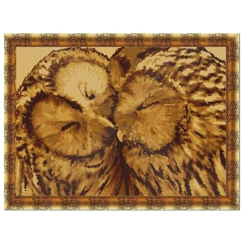 Купить Рисунок на ткани «Конёк» 9521 Совушки, 29x39 см, Наборы для вышивания