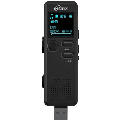 ritmix rr 145 4gb blue Диктофон Ritmix RR-610 4Gb черный