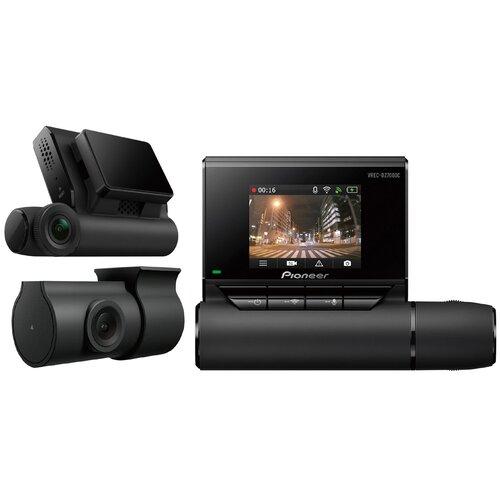 Видеорегистратор Pioneer VREC-DZ700DC, 2 камеры, GPS, черный