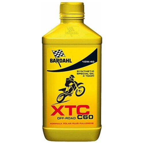 Фото - Синтетическое моторное масло Bardahl XTC C60 Off Road 10W-40, 1 л синтетическое моторное масло bardahl xtc c60 off road 10w 40 1 л