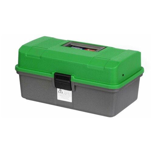 Ящик для рыбалки Nisus N-FB-2 33х20х16 см зеленый