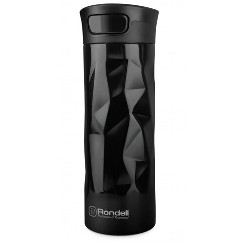 Термокружка Rondell Brilliance RDS-1115, 0.35 л черный