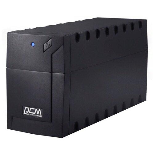 Интерактивный ИБП Powercom RAPTOR RPT-600A EURO черный