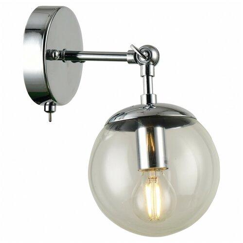 Фото - Бра Arte Lamp Bolla A1664AP-1CC, с выключателем, 60 Вт бра arte lamp serenata a3479ap 1cc с выключателем 40 вт