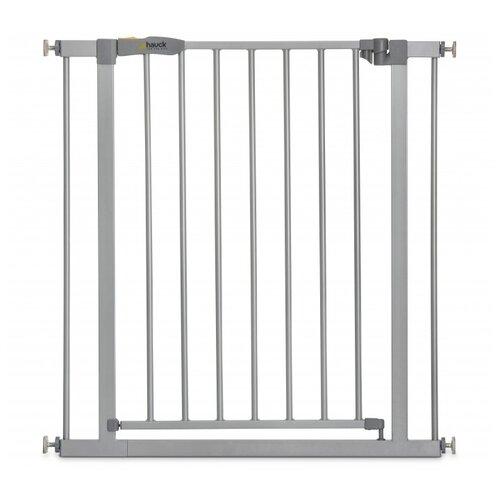 барьеры и ворота hauck ворота безопасности stop n safe 2 дополнительная секция 9 см Hauck Ворота безопасности Stop N Safe 2, 75-80 см silver