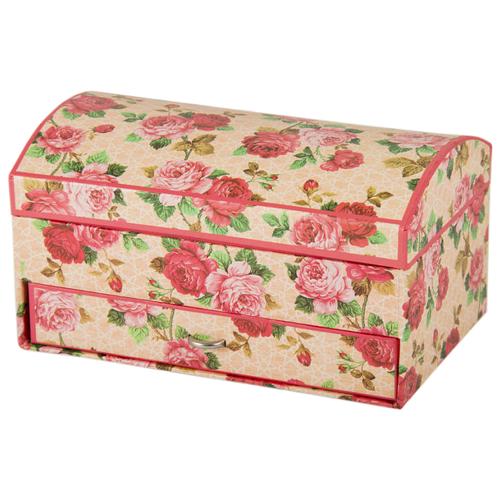 Русские подарки Шкатулка 88251 розовый шкатулка декоративная русские подарки русские подарки mp002xu02r42