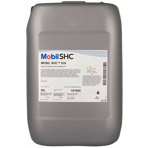 Циркуляционное масло MOBIL SHC 636 20 л