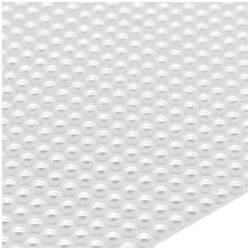4AR014 Полотно из жемчужных полубусин 2мм термоклеевое, 30*25см