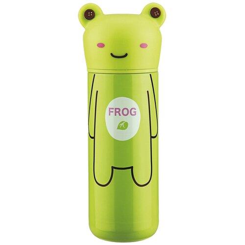 Классический термос Fissman 9685, 0.2 л зеленый