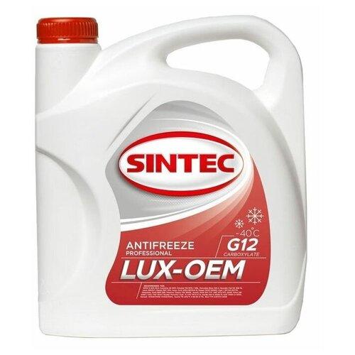 Антифриз SINTEC LUX G12 -40 3 кг