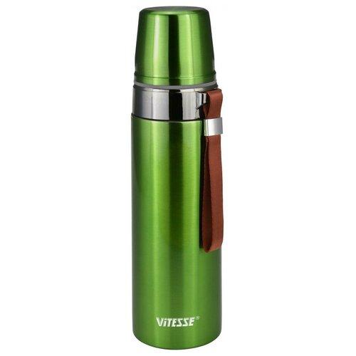Классический термос Vitesse VS-2633, 0.75 л зеленый