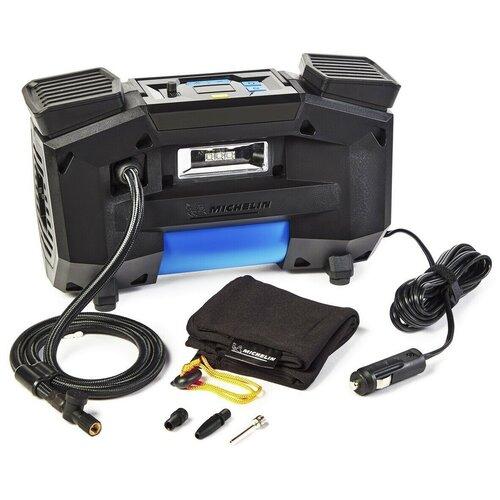 Автомобильный компрессор MICHELIN 12314 черный/синий