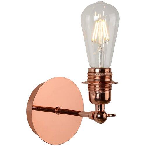 Настенный светильник Lucide Retro 08223/01/17, 5 Вт настенный светильник lucide xera 23253 01 31 25 вт
