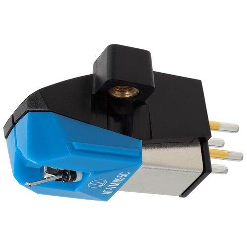 Фото - Картридж Audio-Technica AT-VM95С синий виниловый проигрыватель audio technica at lp5x