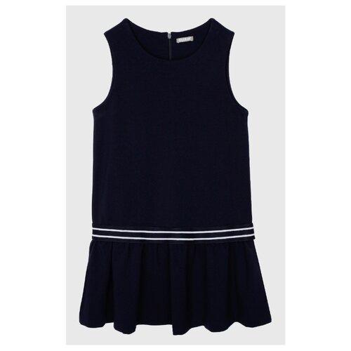 Купить Сарафан Gulliver размер 122, синий, Платья и сарафаны