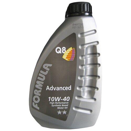 Полусинтетическое моторное масло Q8 Formula Advanced 10W-40, 1 л
