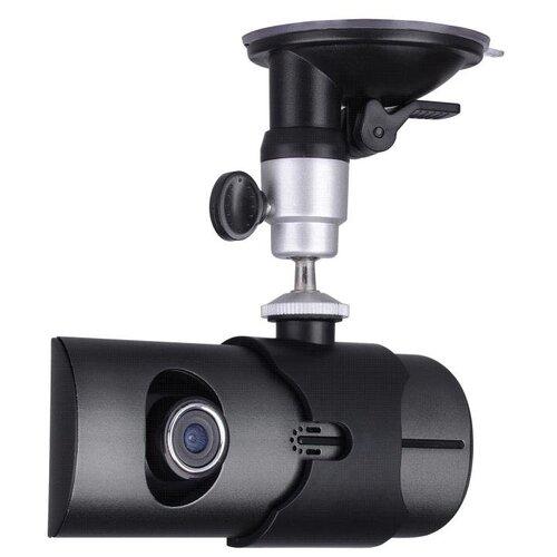 Видеорегистратор Eplutus DVR-R300, 2 камеры, GPS, черный