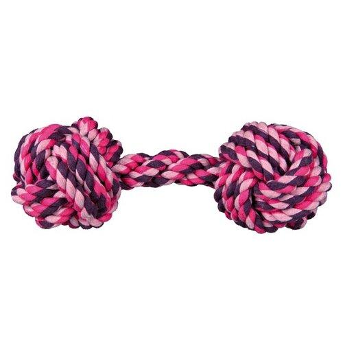 Фото - Гантель для собак TRIXIE Rope Dumbbell (32656) trixie гантель trixie для собак средняя 19 см