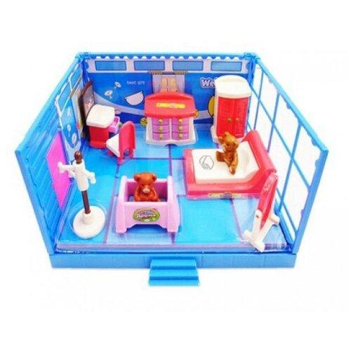 Игровой набор ABtoys Счастливые друзья - Спальная комната PT-00911