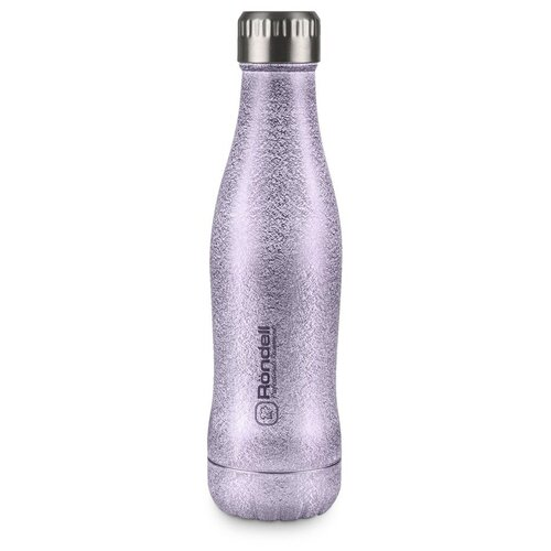 Термобутылка Rondell Disco, 0.4 л lilac