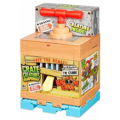 Игровой набор MGA Entertainment Crate Creatures KaBoom 555070 crate creatures монстр падж разноцветный