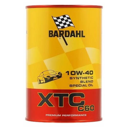 Синтетическое моторное масло Bardahl XTC C60 10W-40, 1 л