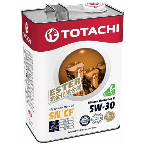 Фото - Синтетическое моторное масло TOTACHI Ultima Ecodrive F 5W-30 4 л синтетическое моторное масло totachi niro lv synthetic 5w 40 4 л