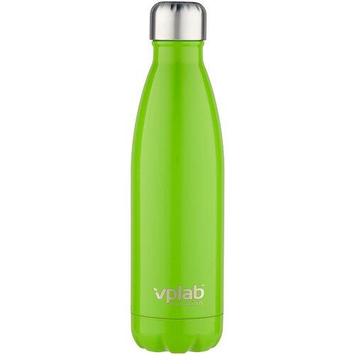 Термобутылка vplab Metal Water Thermo bottle, 0.5 л лайм недорого