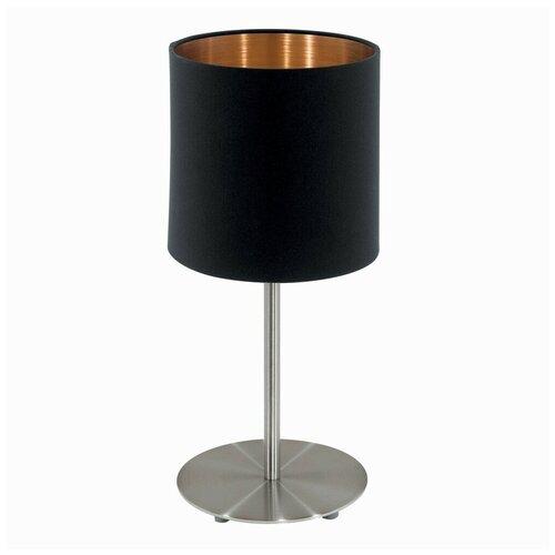 Фото - Настольная лампа Eglo Pasteri 94917, 60 Вт настольная лампа eglo montalbano 98381 60 вт