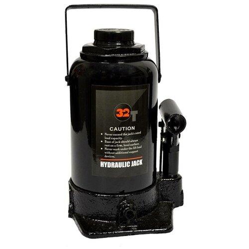 Домкрат бутылочный гидравлический WIEDERKRAFT WDK-81320 (32 т) черный