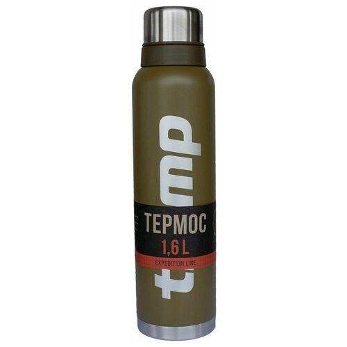 Классический термос Tramp TRC-029, 1.6 л оливковый