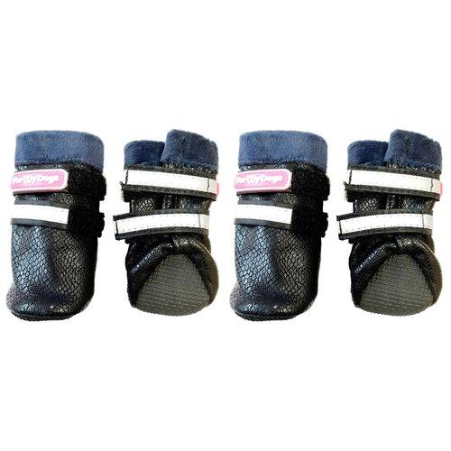 Ботинки для собак ForMyDogs FMD666-2020 BL черный ботинки bottilini ботинки bl 185