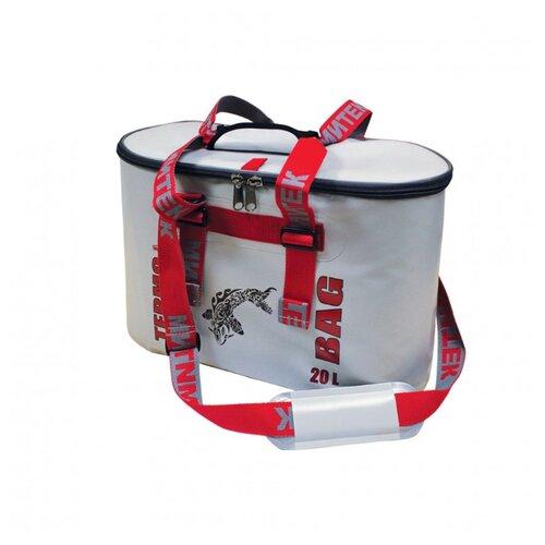 Фото - Сумка-Термос Митек овал 25л (40х20х36) с крышкой серый сумка рыболовная митек с крышкой овал 40х20х40 серый