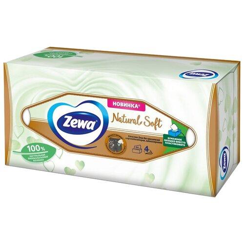 Салфетки Zewa Zewa Natural Soft, 80 шт.