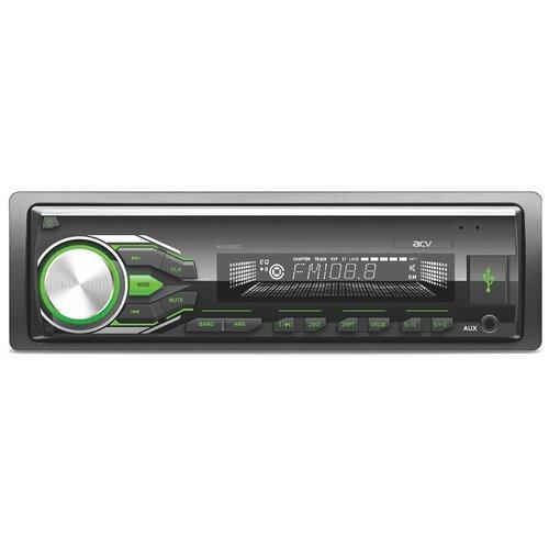 Автомагнитола ACV AVS-1722GD, черный/зеленая подсветка
